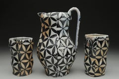 Flower of Life Pitcher with Cups