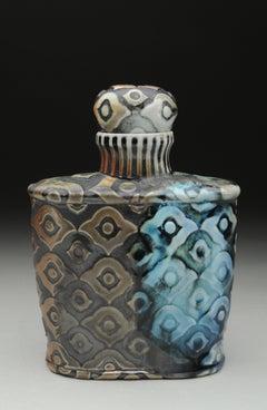 Peacock Bourbon Bottle