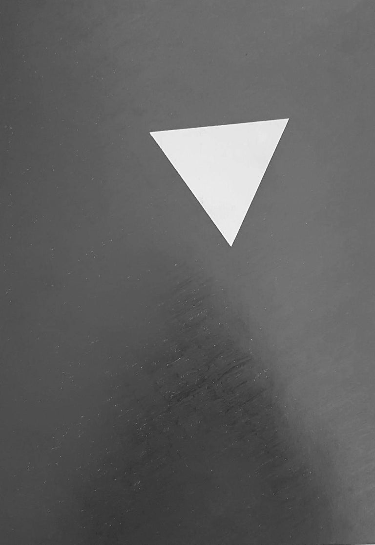 Hannes Forster Abstract Drawing - Geometric Composition (Minimalism, Constructivism)