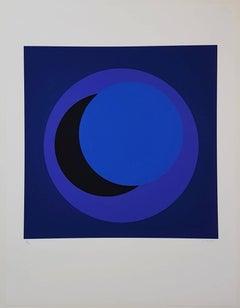Dark Blue Circle (Cercle bleu foncé)