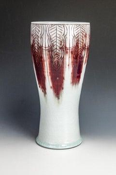 Red Blush Vase