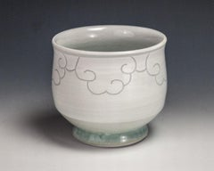Sgraffito Cloud Cup