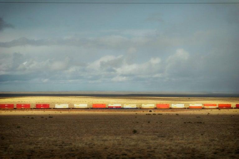 Kelly Ludwig Landscape Photograph - Train, Pastura, NM