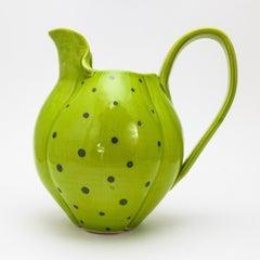 Green polka-dot Pitcher