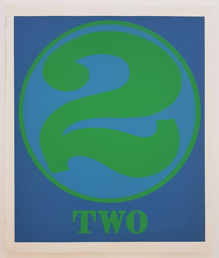 Number Suite - Two - Print by Robert Indiana