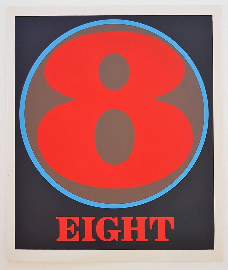 Number Suite - Eight - Print by Robert Indiana