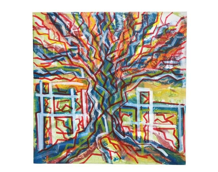 Enzio Wenk Still-Life Painting - Albero