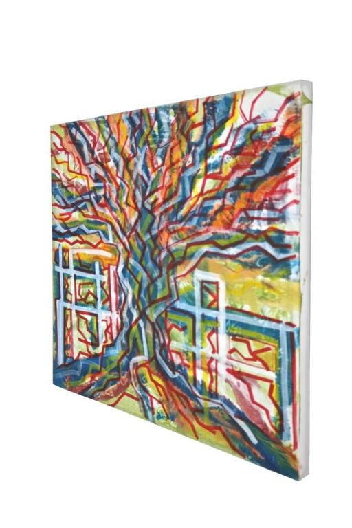Albero  - Painting by Enzio Wenk