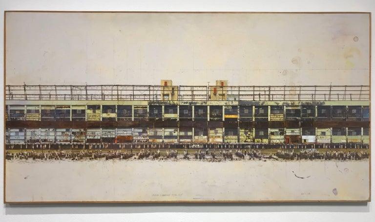 Joseph McNamara Landscape Painting - PIER 57