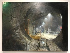 EAST SIDE ACCESS TUNNEL UNDER CONSTRUCTION