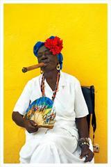 Cigar Lady I; Old Havana, Cuba