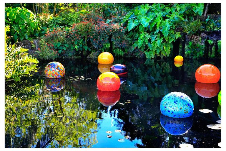 H. Allen Benowitz - Chihuly Floats; Coral Gables, FL 1