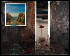 Um Quarto Ambiente- surreal painting oil on canvas