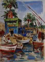 Mediterranean Fishing Village