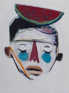 Rodrigo Branco, 'Boy With Watermelon', Contemporary Street / Graffiti Art, 2014