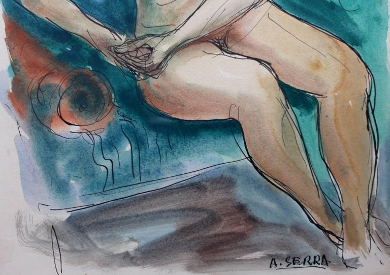Seated Nude Woman For Sale 2