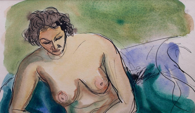 Seated Nude Woman For Sale 4