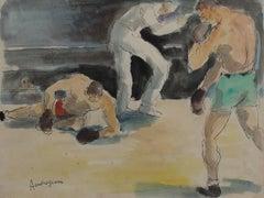Les Boxeurs II - Combat de Boxe