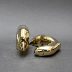 Bronze Fingers Sculpture