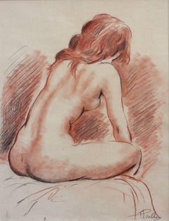Reclining Nude Young Woman
