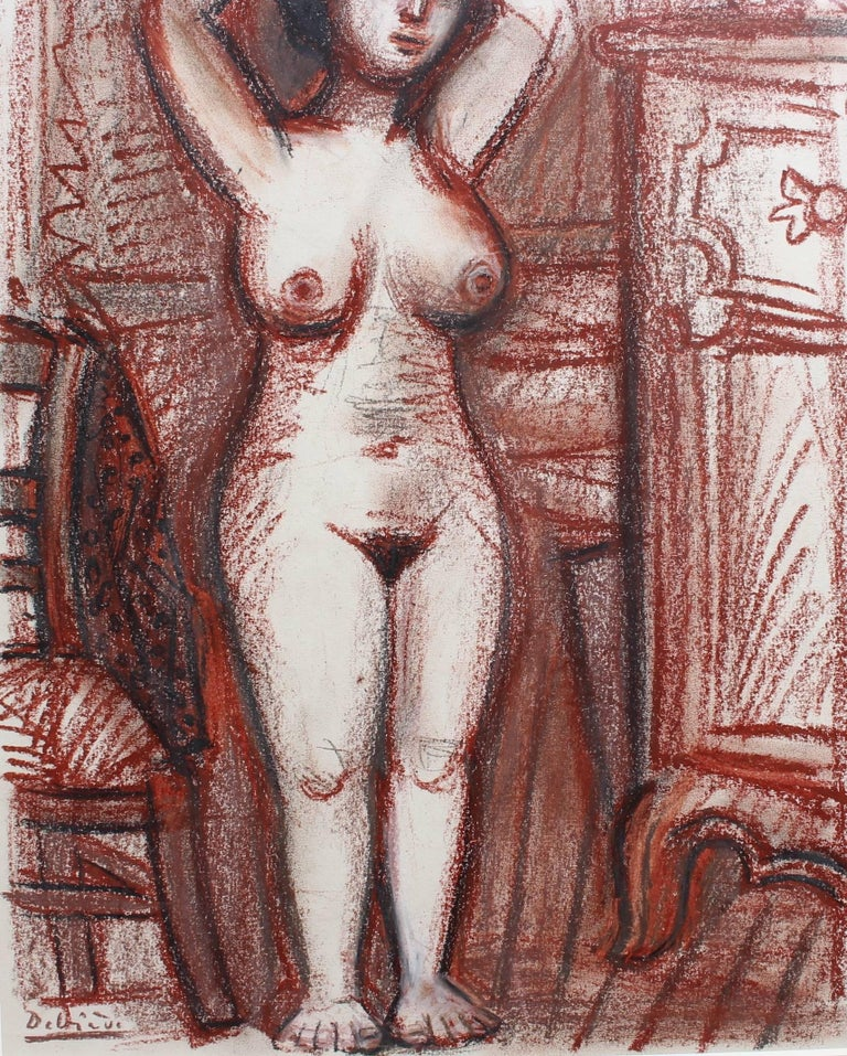 Nude Woman Drying Her Hair For Sale 7