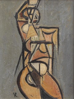 Portrait of a Posing Nude