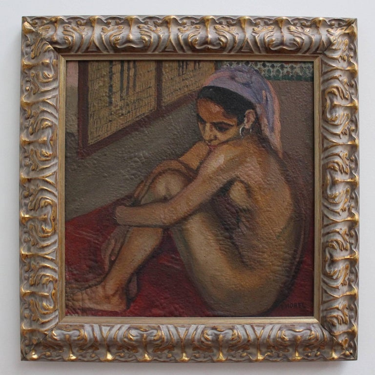 Nude Moroccan Woman - Painting by Albert Horel