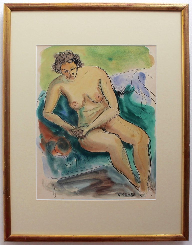 Seated Nude Woman For Sale 1