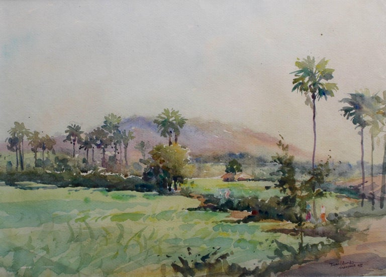 Than Aung Landscape Painting - Monywa II