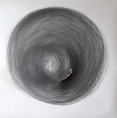 Carali McCall, Work no. 1 (Circle Drawing) 2hours 18min, 2012