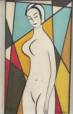 'Standing Nude' by Edgar Stoëbel, circa 1960s