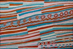 Australian Contemporary Aboriginal Art by Yurpiya Lionel