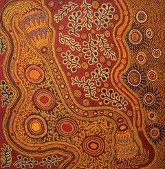 Australian Aboriginal Art by Makinti Minutjukur