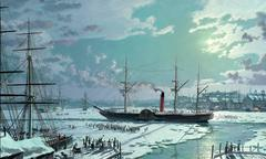RMS Britannia Freed from the Ice, 1844