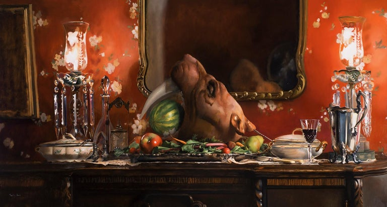 Timothy W. Jahn, Paleo, Oil Painting
