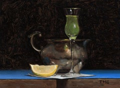 Todd M. Casey, Limoncello, oil on panel