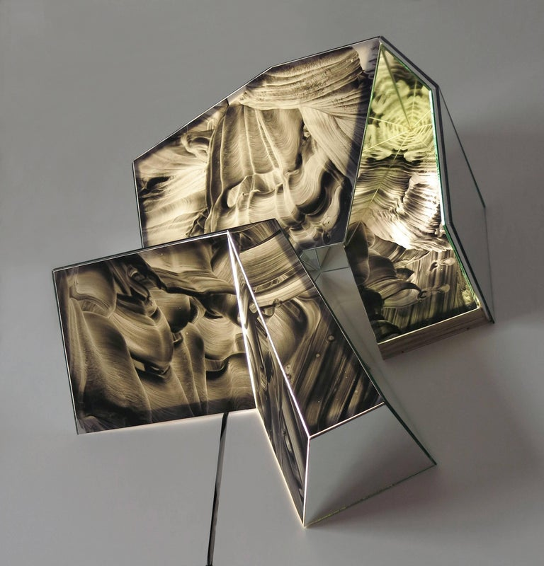 Kaleidoscope #1000 - Abstract Geometric Sculpture by MaDora Frey