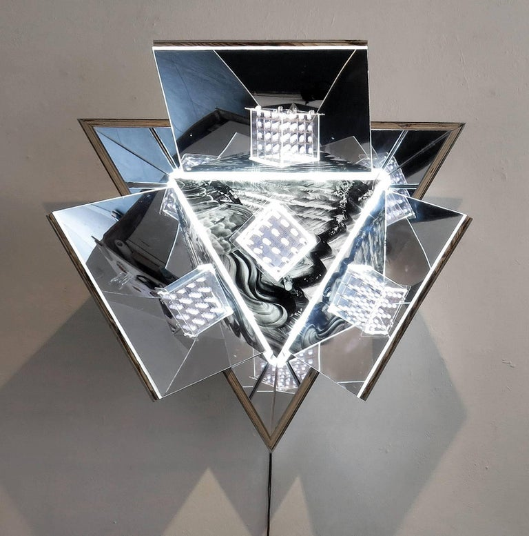 MaDora Frey Abstract Sculpture - Meteorite 1