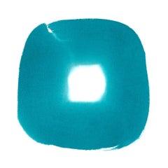 Aperture in Turquoise XXVII