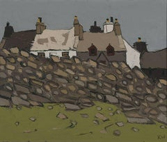 Sir Kyffin Williams - Pentre Pella Mountain