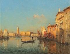 Venetian Scene by Marc Aldine