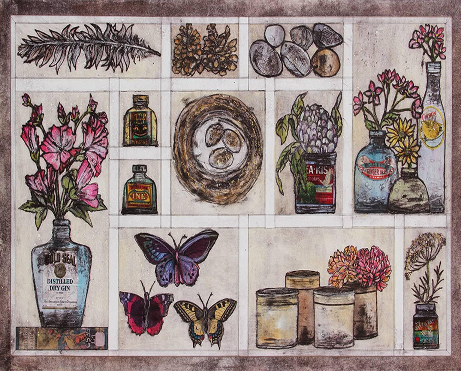 Autumn Collection, limited edition still life, autumn print