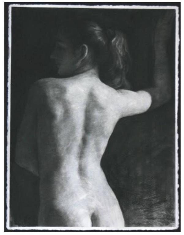 Daniel Ludwig Figurative Art - Back View