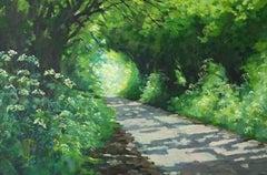 Sunny Lane in Spring