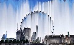 London Eye, Large Aluminium Print