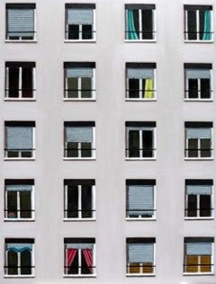 Multiple Windows, contemporary original oil painting