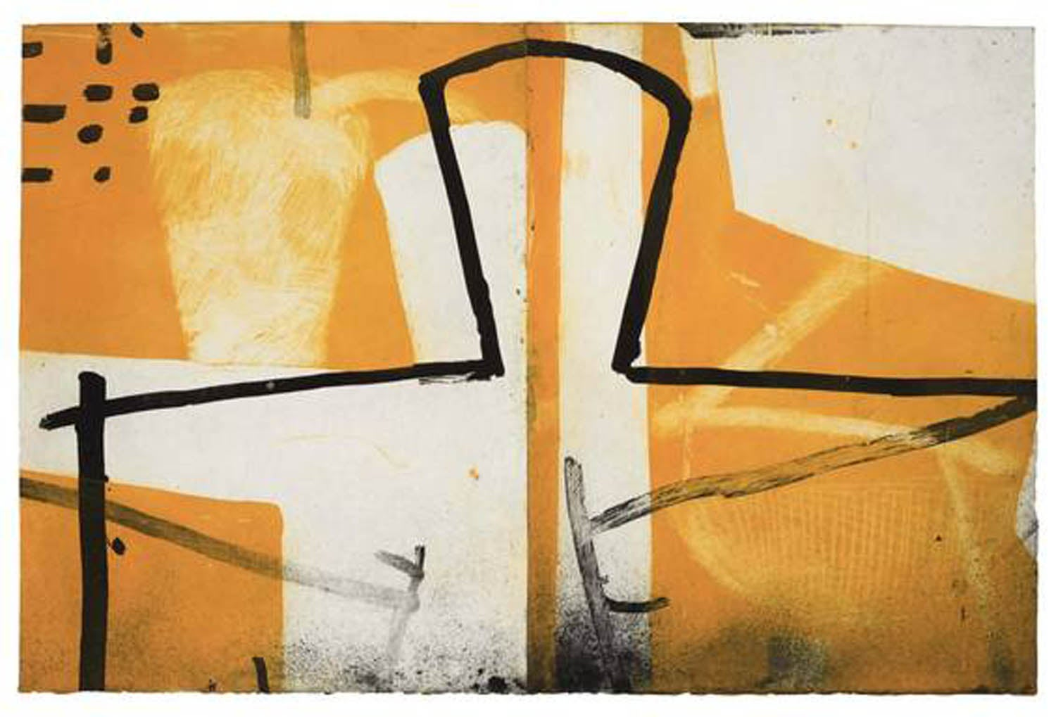 Graham Fransella, Figure by Window, Limited Edition Etching, Abstract