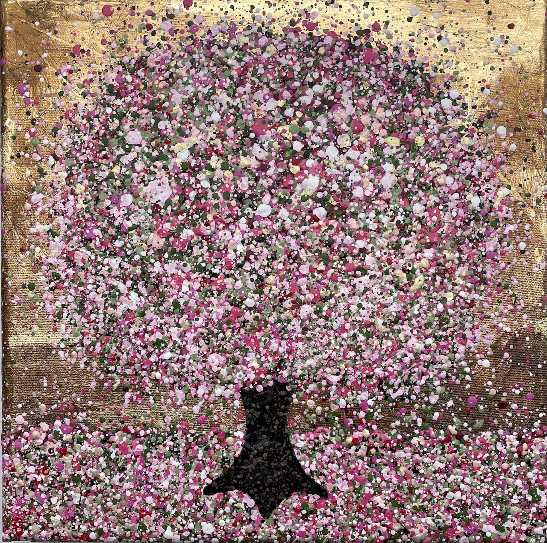 Nicky Chubb, Everlasting Cherry Blossom II, Contemporary Art, Affordable Art