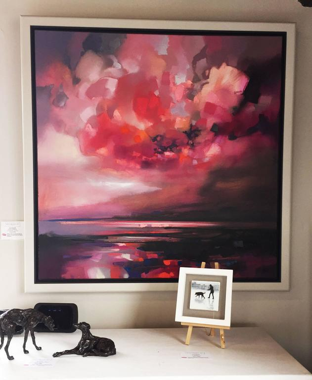 Scott Naismith - Dispersing Magenta, Painting at 1stdibs