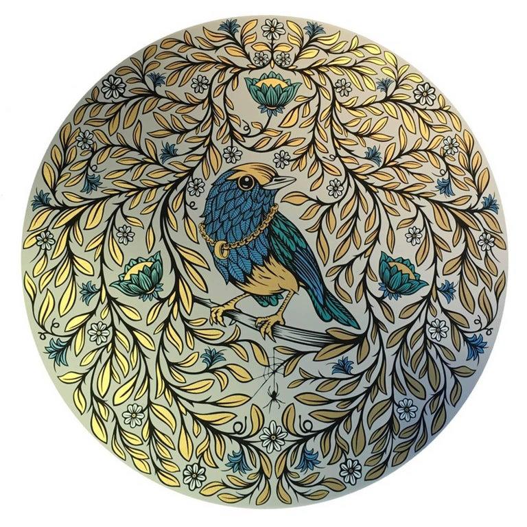 Andy Wilx Animal Print - Blue Bird